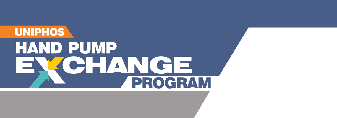 Uniphos Hand Pump Exchange